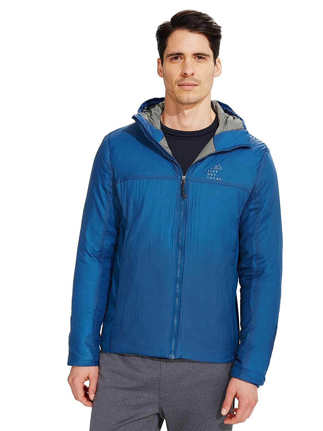 Live Out There OUTERWEAR B076T8G21D S|Poiseden Blue Poiseden Blue S