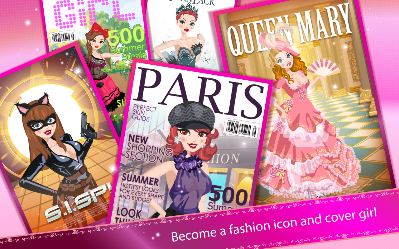 Star girl appstore for android Fashion style games online