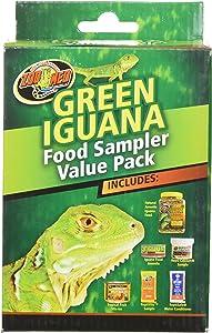 Zoo Med Laboratories SZMFSP4 Green Iguana Food Sampler