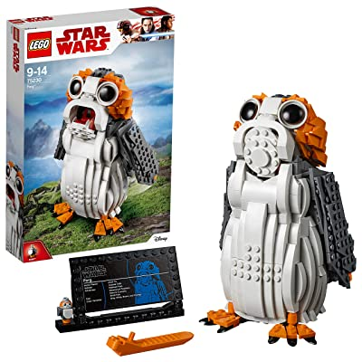 LEGO Star Wars PORG Building Set, Ahch-to Sea-Dwelling Bird Figure, Collectible Model: Toys & Games