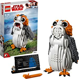 LEGO Star Wars PORG Building Set, Ahch-to Sea-Dwelling Bird Figure, Collectible Model