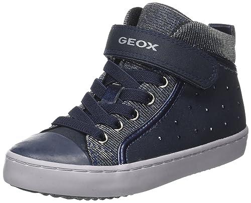 new arrival 59680 3c839 Geox Mädchen J Gisli Girl A Hohe Sneaker