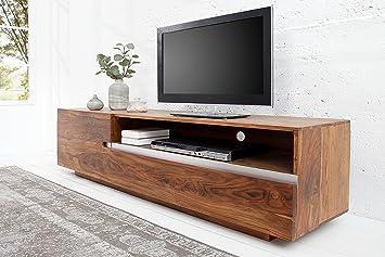 Fernsehtisch TV Schrank TV Board Fernsehtisch Lowboard Sheesham Holz Palisander