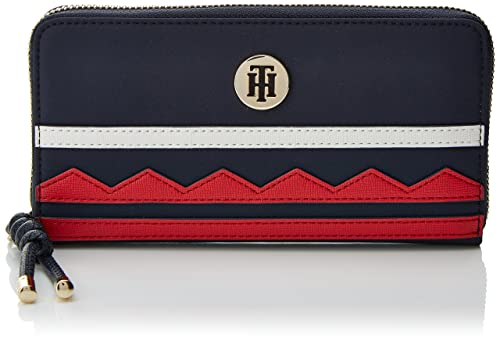 City Za Wallet, Womens Black, 2x10x19 cm (B x H T) Tommy Hilfiger
