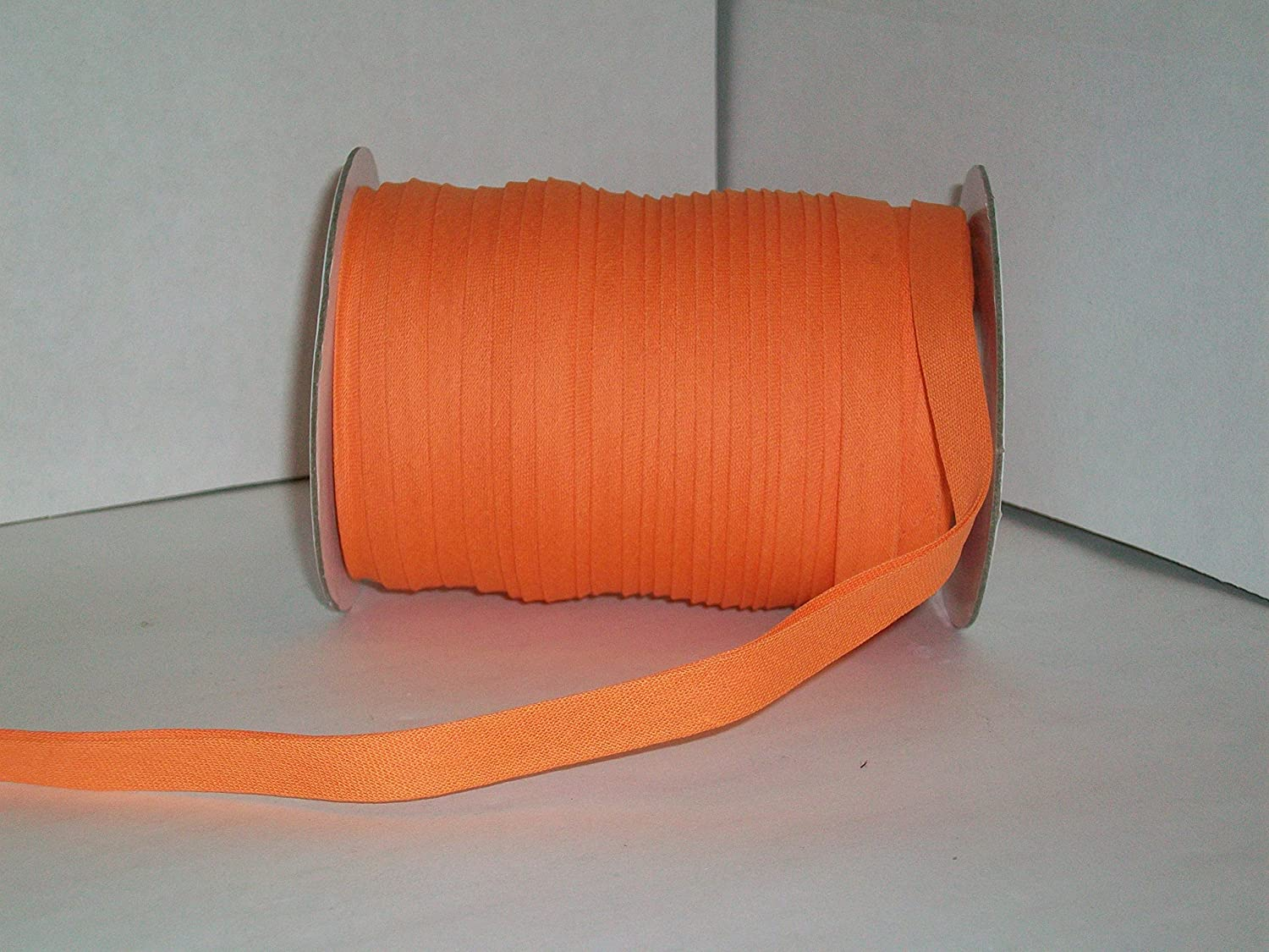 1//2 Inch Gold Double Fold Bias Tape 50 Yds