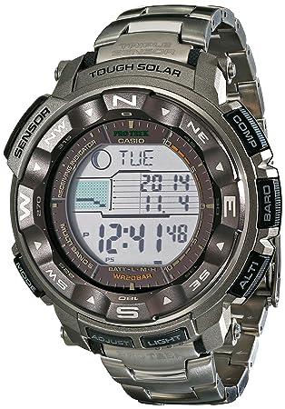 5710c440a42 Amazon.com  Casio Men s Pro Trek PRW-2500T-7CR Tough Solar Digital ...