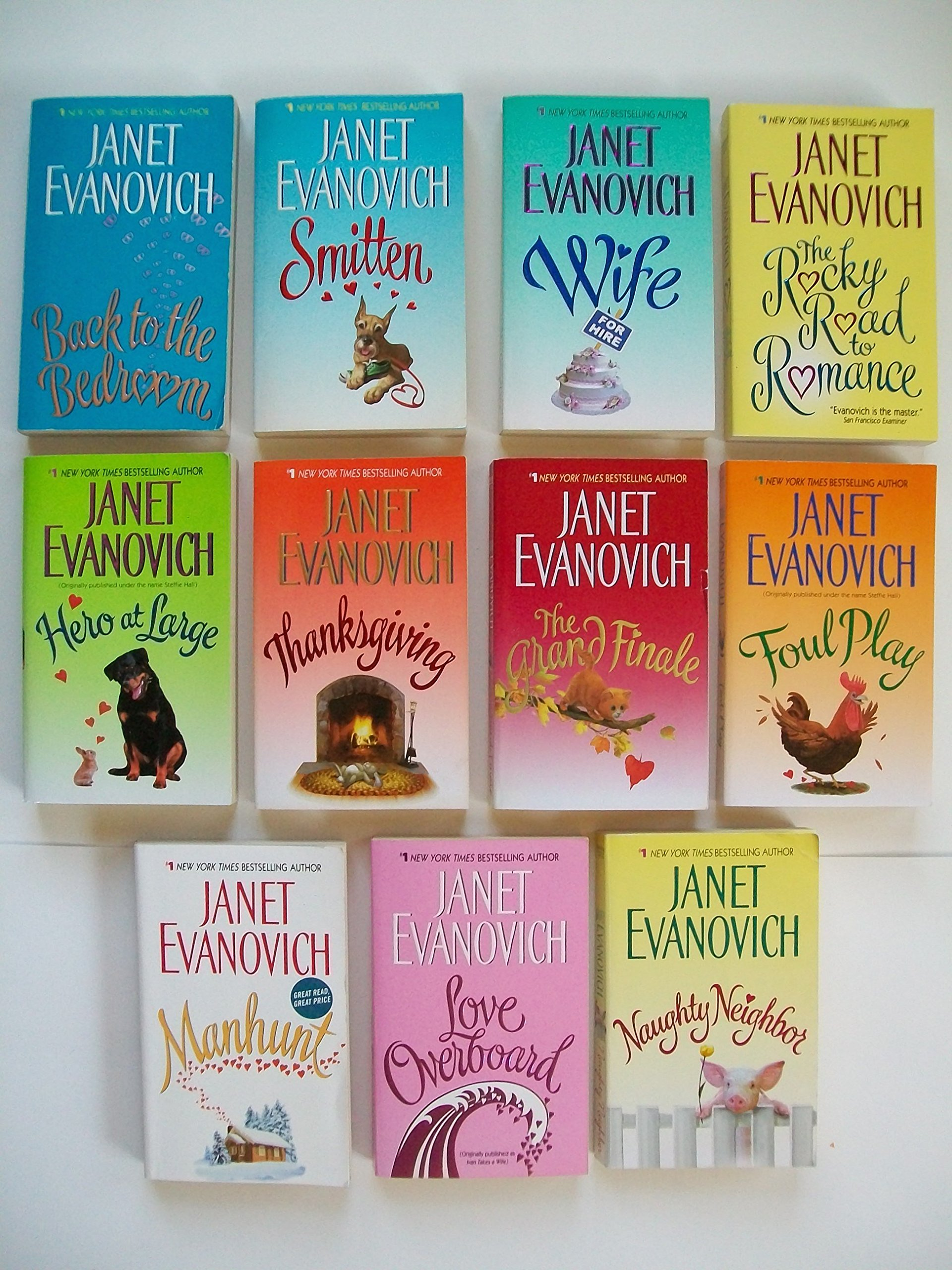 Janet Evanovich (Set of 11) Back to Bedroom