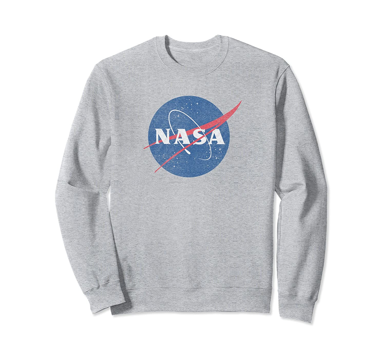 Classic NASA Logo Sweatshirt-alottee gift