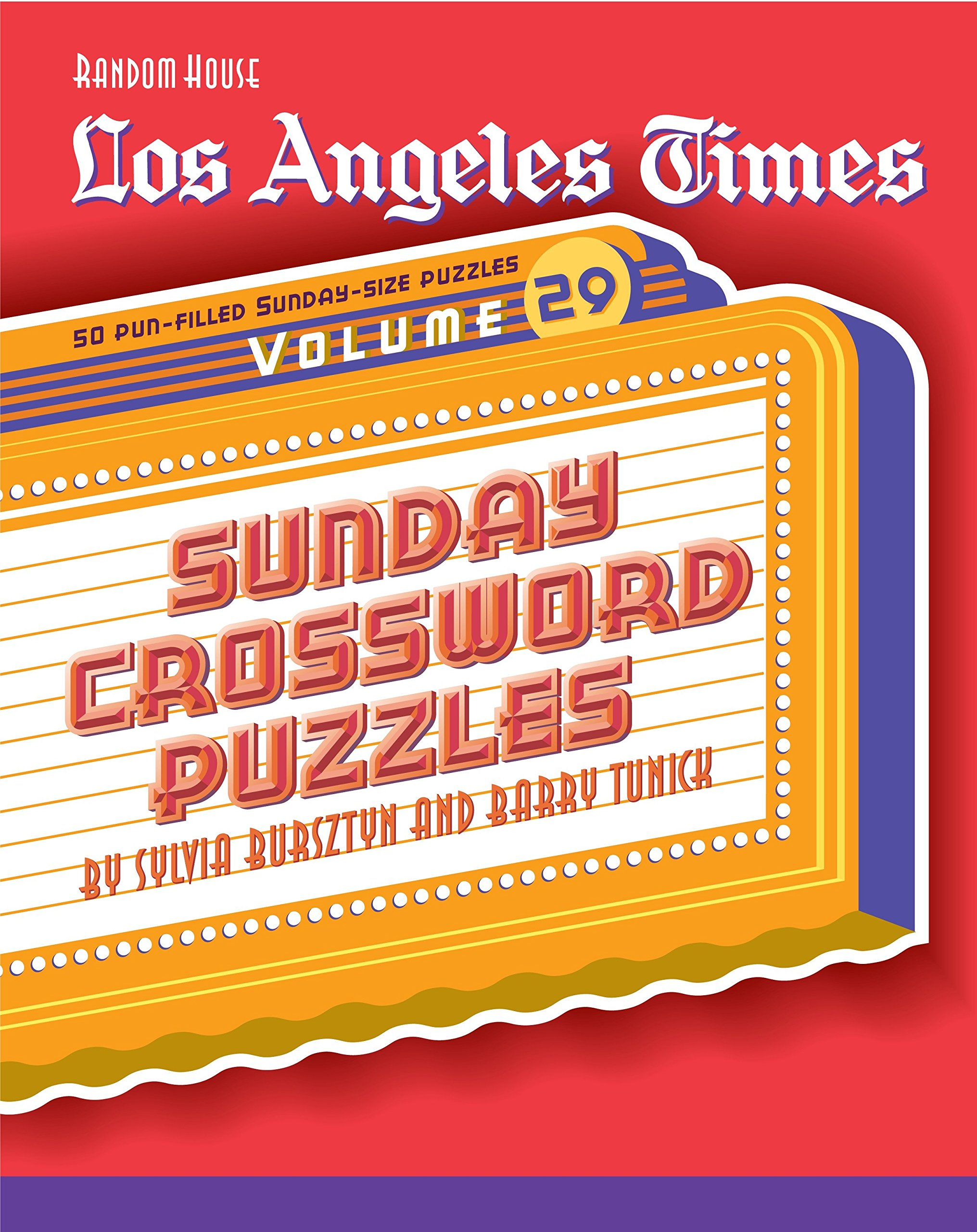 photo relating to Printable Crossword Puzzles La Times known as Los Angeles Periods Sunday Crossword Puzzles, Sum 29 (The