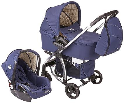 67fa47b9a Asalvo Trio Roma Azul Marino: Amazon.es: Bebé