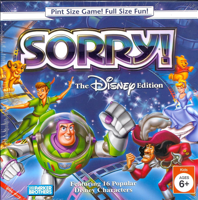 Sorry Disney Edition Pint Size Game: Amazon.es: Juguetes y juegos