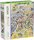 216ピース ジグソーパズル プリズムアート ムーミン谷の地図 (25x36cm)