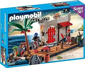 PLAYMOBIL - Fuerte Pirata, superset (61460): Amazon.es: Juguetes y juegos