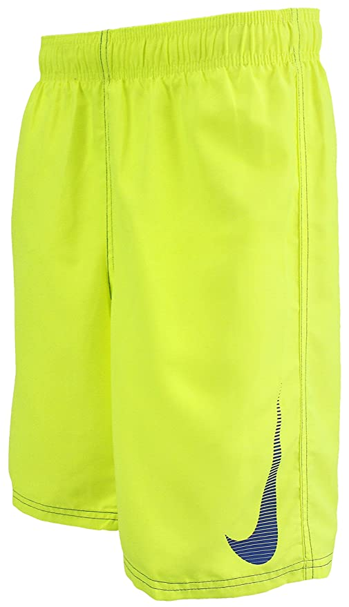2dc167a940 Image Unavailable. Image not available for. Color: NIKE Boys Volley 4'' Swim  Shorts - Yellow ...
