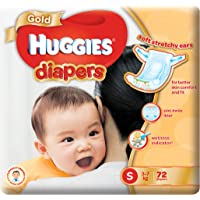 Huggies Gold Small Diapers, 72ct