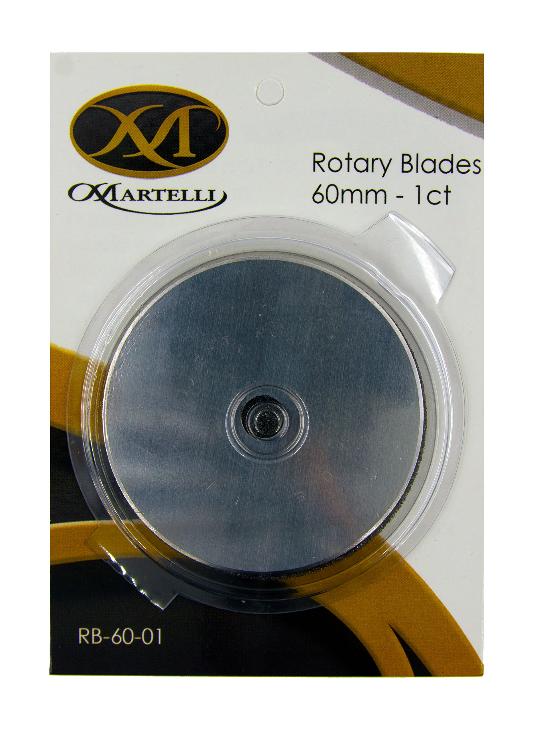 Bulk Buy: Martelli Ergo 2000 Rotary Cutter 60mm Replacement Blade 1/Pkg EC025 (3-Pack)