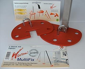 MARKISEN-SET- STABIELO SCHRAUBHERING-WURMI ® Holly ® Produkte ZELTHERING
