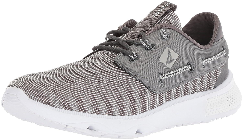 SPERRY Men's 7 Seas 3-Eye Sneaker, Grey