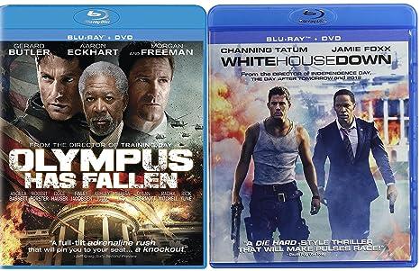 Amazon Com White House Down Olympus Has Fallen Action Bundle Blu