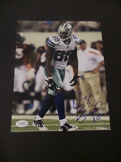 Dez Bryant Signed Dallas Cowboys Autographed 8x10 Photograph