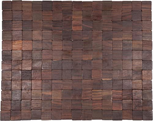 Entryways Mather Exotic Rosewood Mat, 18 X 30 X .4