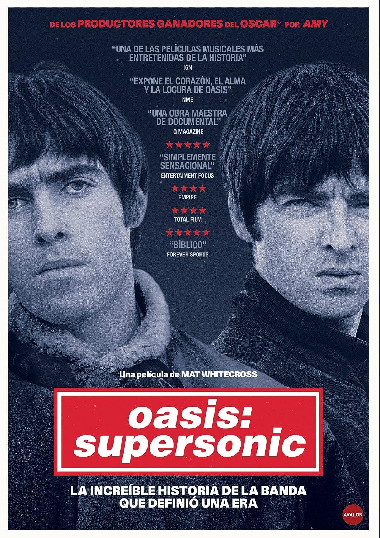 Oasis: Supersonic [DVD]: Amazon.es: Noel Gallagher, Liam Gallagher, Mat Whitecross: Cine y Series TV