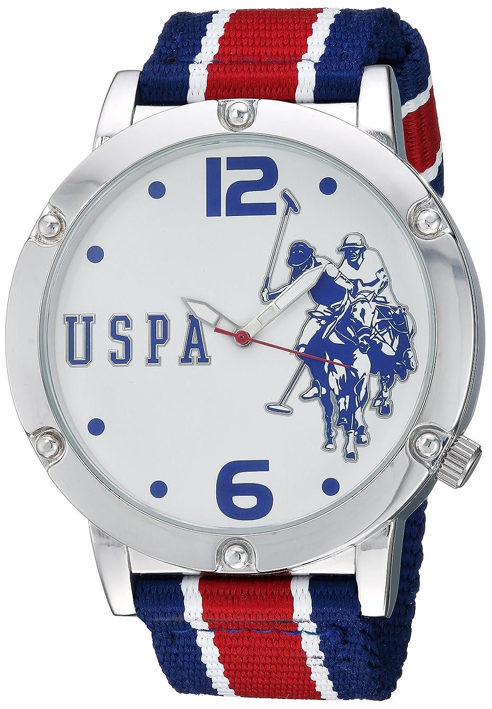U.S.POLO ASSN. Reloj Hombre de Cuarzo analógico con Correa en ...