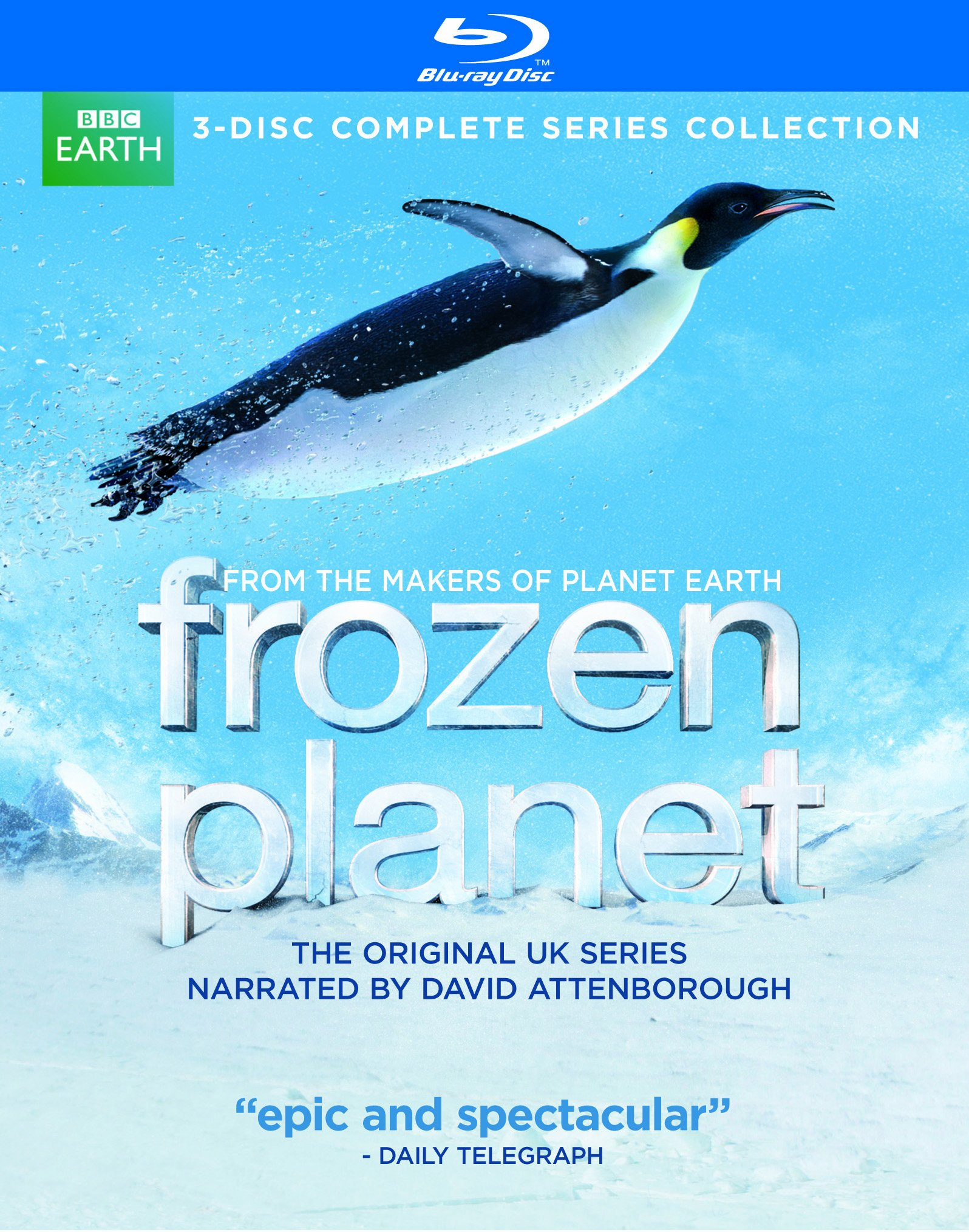 Blu-ray : Frozen Planet (Full Frame, Digital Theater System, AC-3, )