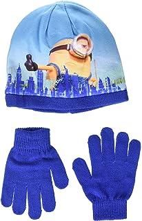 Minions 2200-1578 - Set 3pz Inverno Cappello Sciarpa e Guanti ... 92d643301ca1
