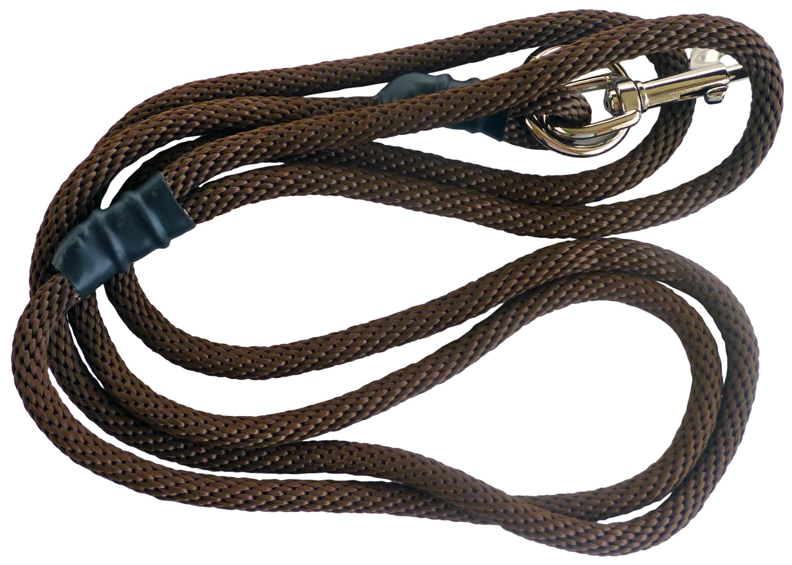 Weiss Walkie No Pull Dog Leash & Training Leash - Brown