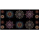 Kismet Kismet Manadals 23.5in Panel Multi Fabric By The Yard