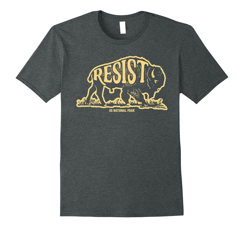 ALT US National Park Resist Service T shirt Bison Vintage-ah my shirt one gift