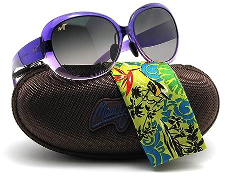 6dc05573df Image Unavailable. Image not available for. Color  Maui Jim GS436-28C NAHIKU  Purple Fade Frame   Polarized ...