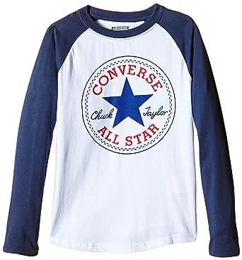da1ead15134d Converse Boy s Chuck Patch Raglan T-Shirt
