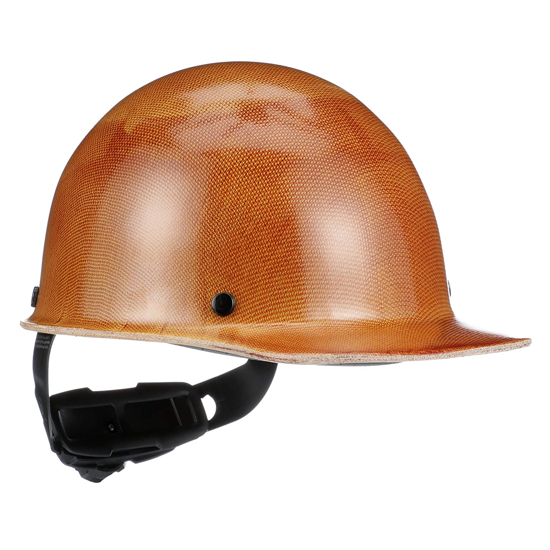 MSA - 475395 Tan Skullgard Phenolic Cap Style Hard Hat With Ratchet4 Point Ratchet Suspension: Skullgard Protective Cap: Industrial & Scientific