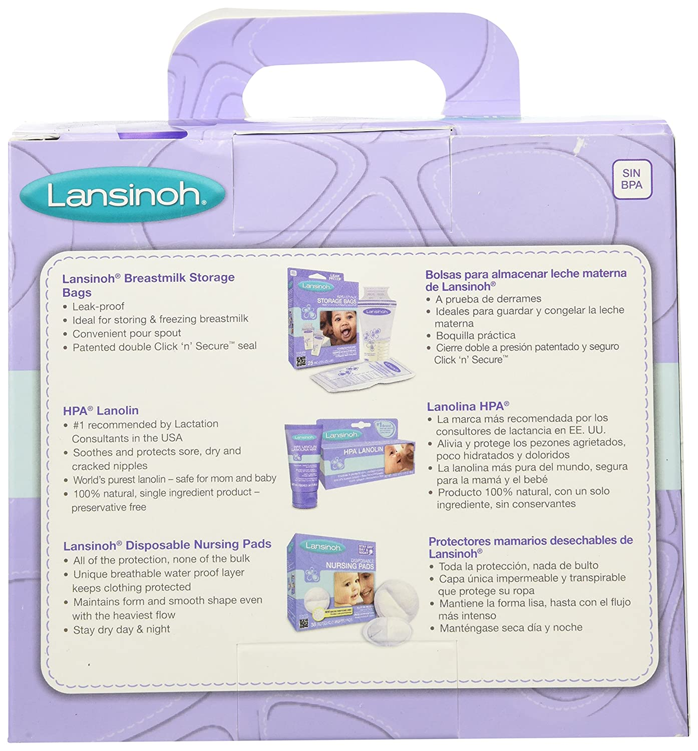 Amazon.com: Lansinoh Enfermería Set de regalo: Health ...