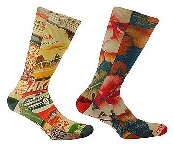VIRTUOSA- (2 pares) - Calcetines de hombre cortos con