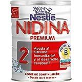 Nestlé Nidina - 2 Premium Leche de continuación en polvo a partir de 6 meses - 800 g