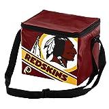 Washington Redskins Big Logo Stripe 6 Pack Cooler