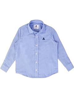 Scalpers Siena Shirt Kids - Camisa para niño, Talla 8, Color Azul: Amazon.es: Ropa y accesorios
