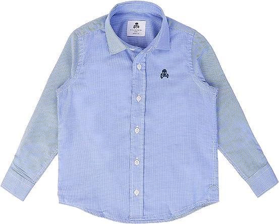Scalpers Siena Shirt Kids - Camisa para niño, Talla 6, Color Azul: Amazon.es: Ropa y accesorios