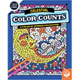 Color by Number Color Counts: Celestial