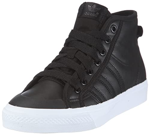 reputable site 354ee 585ee adidas Originals Nizza HI, Scarpe da Ginnastica Uomo, Schwarz Black 1 Black  1 White, 37 1 3 EU  Amazon.it  Scarpe e borse