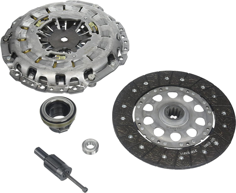 American Shifter 487297 518 Shifter Kit 6 E Brake BLK Push Btn 16 Handle Billet Knob for EB282