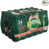 24-Pack Perrier Pink Grapefruit Flavored Carbonated Mineral Water Deals