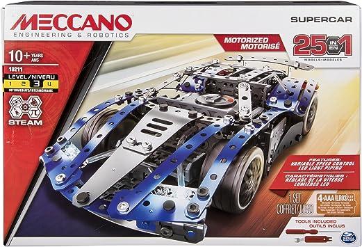Meccano Boys 5 Models Set Motorcycles Building Kit FREE Shipping USA Seller