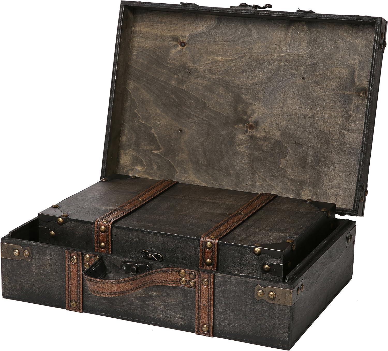PLAYMOBIL Silver TRUNK Chest Suit Case