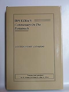 Ibn ezras commentary on the pentateuch genesis bereshit h ibn ezras commentary on the pentateuch deuteronomy devarim fandeluxe Choice Image