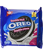 OREO Double Stuf Sandwich Cookies, 1 Resealable Pack (303g)