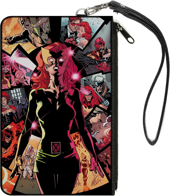 "Buckle-Down Buckle-Down Zip Wallet X-Men Large Accessory, X-Men, 8"" x 5"""